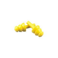 Triple mushroom design soft synthetic rubber earplugs - EP-531