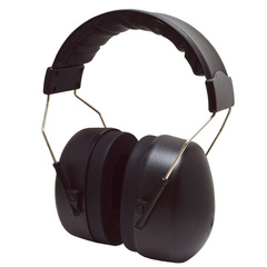 Matt black safety ear protector