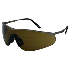 Brown comfort safety eyewear