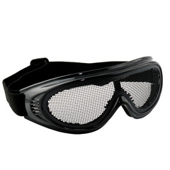 metal mesh safety goggle
