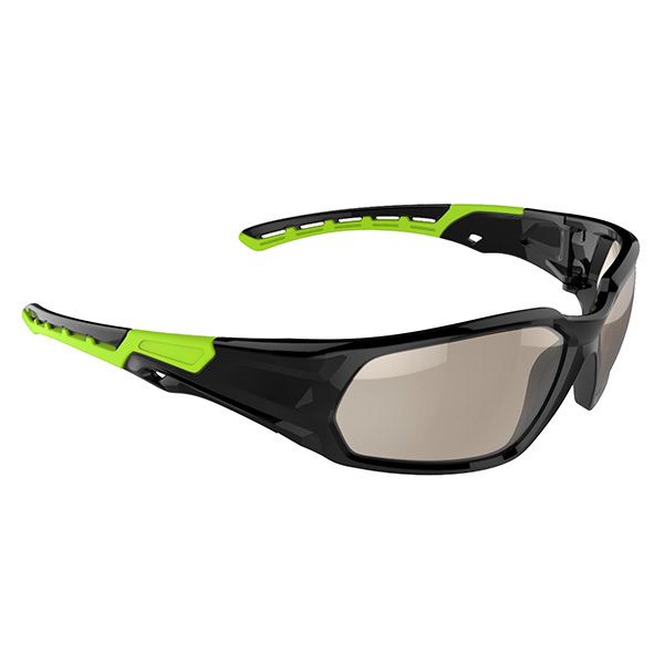 green smooth safety glasses - SS-5626